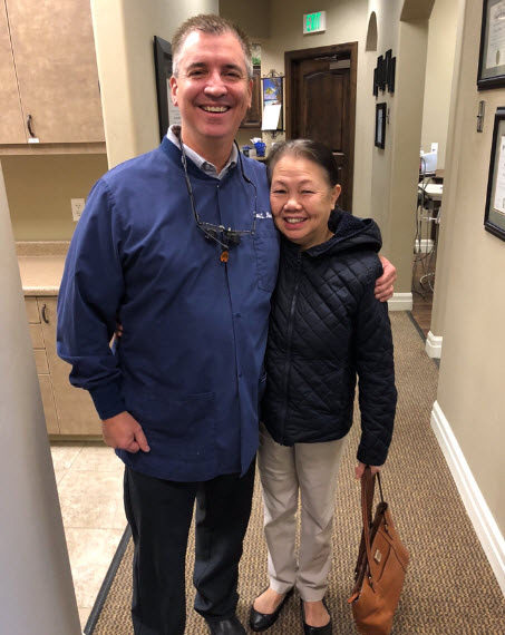 Patient with Doctor at Dr. Kevin Norris DMD